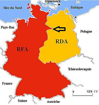 Creació RFA i RDA, 1949