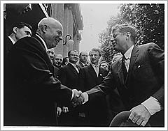 Kennedy i Khruixov a Viena, 1961