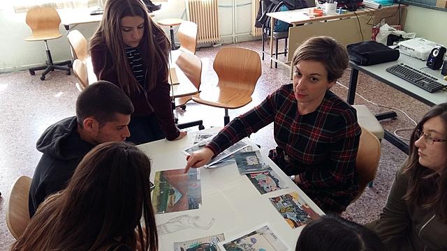 Μελέτη street art στα Σεπόλια και καλλιτεχνική δημιουργία