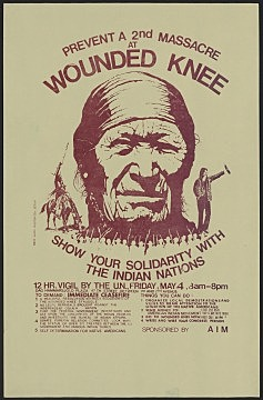 American Indian Movement occupies Wounded Knee: 1973