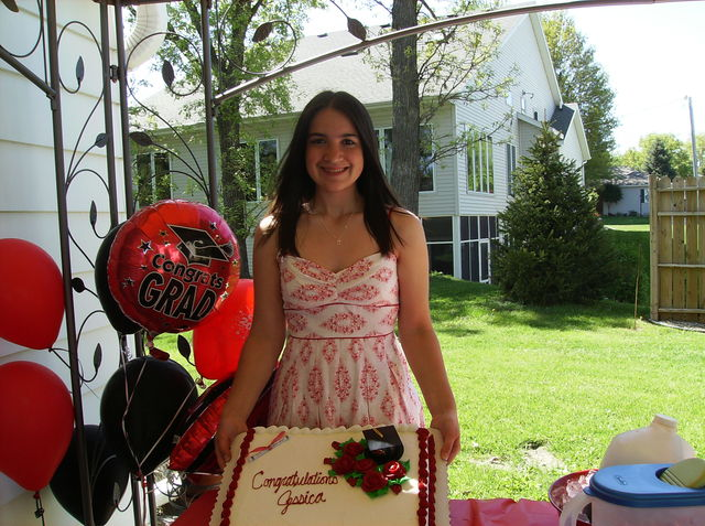Graduating Highschool :)