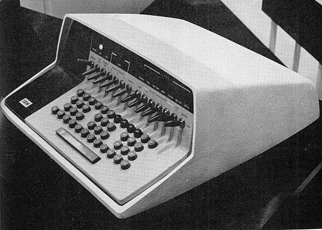IMB 610 Auto-point computer