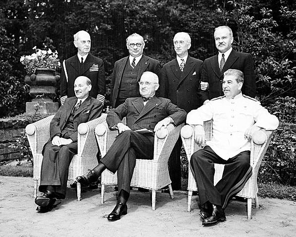 Conferència de Potsdam, 1945