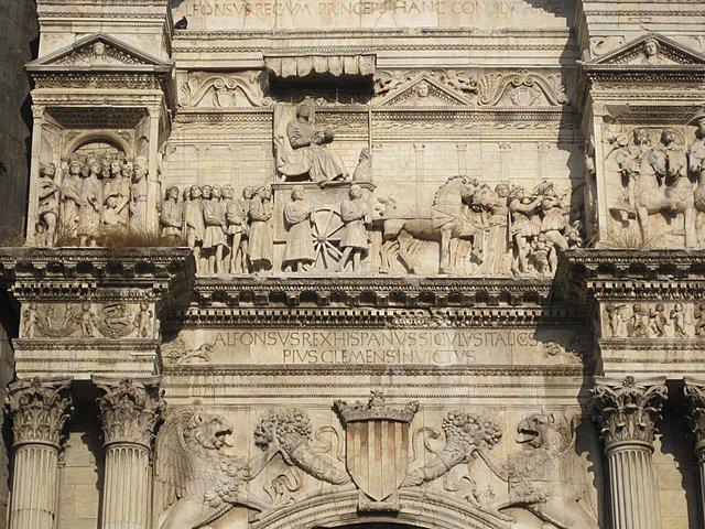 Toma de Nápoles por Alfonso V. hegemonía de Aragón en el Mediterráneo