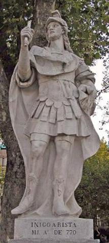 Iñigo Arista consigue la independencia de Navarra