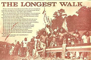 'Longest Walk' draws attention to American Indian concerns: 1978