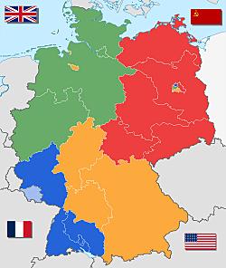 Creació de les Republiques alemanyes.