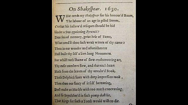 On Shakespeare
