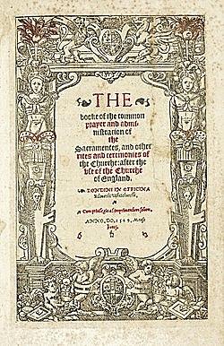 Thomas Cranmer (1489 - 1556)