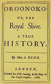 Aphra Behn (1640 - 1689)