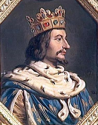 "Charles V ""the wise"" restarted the war"