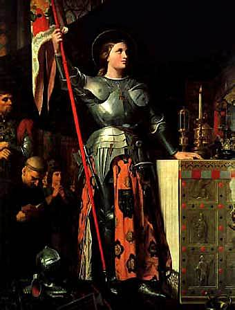 Joan of Arc had born
