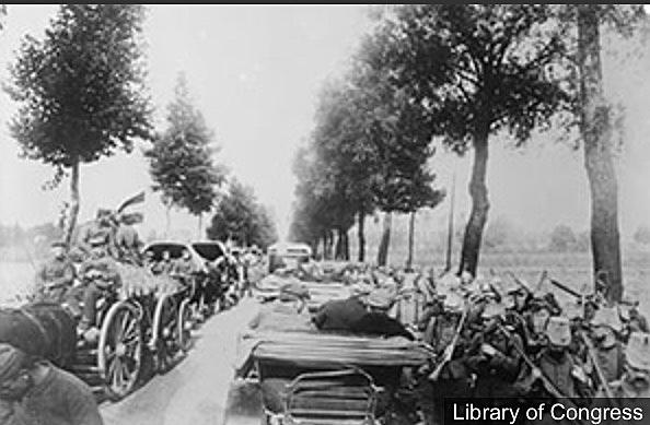 Invasió de Bèlgica.