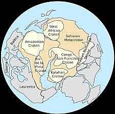 Rodinia; Pangea I.