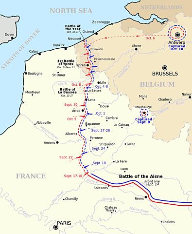 Batalla de l'Yser.