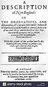 John Smith publishes A Description of New England