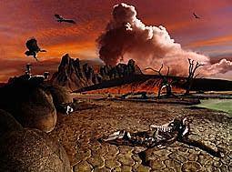 Tercera Extinción masiva.