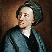 Alexander Pope's Rape of the Lock introduces a delicate vein of mock-heroic in English poetry.