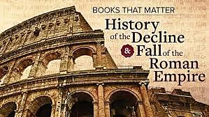English historian Edward Gibbon, sitting among ruins in Rome, conceives the idea of Decline and Fall of the Roman Empire