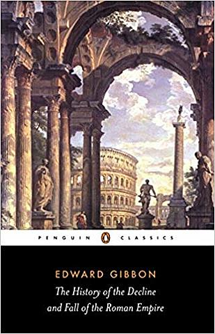 ward Gibbon publishes the first volume of The Decline and Fall of the Roman Empire