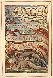 William Blake publishes Songs of Innocence,
