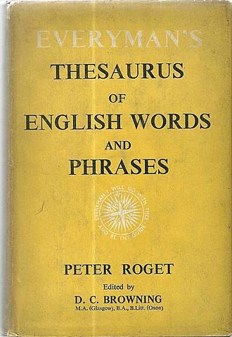 Peter Mark Roget (1779 - 1869)