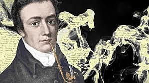 Samuel Taylor Coleridge says that while writing Kubla Khan he is interrupted by 'a person on business from Porlock'