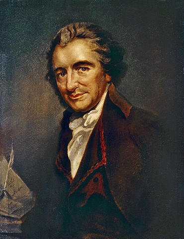 William Cobbett brings back to England the bones of Thomas Paine, who died in the USA in 1809.