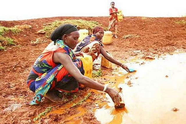 Escasez de alimentos en Africa