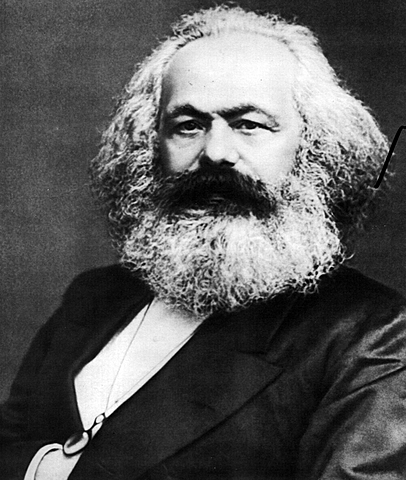 Marx inizia a pubblicare