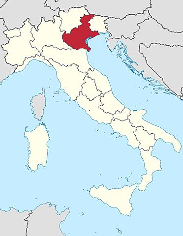 Veneto annesso all'Italia