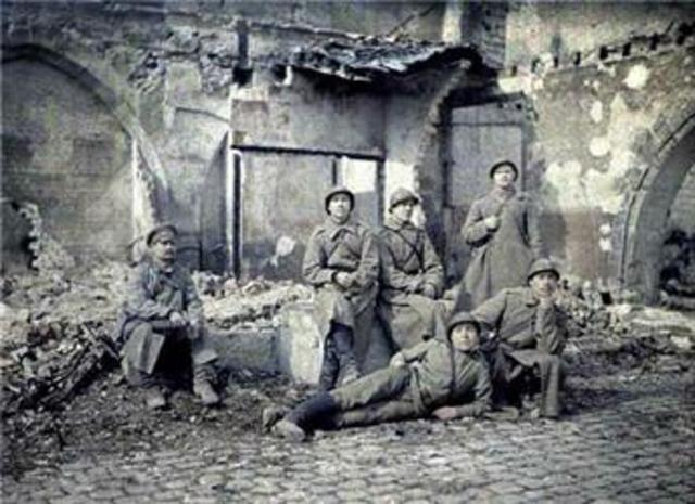 Austria-Hungary Declares war on Serbia