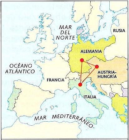 Consolidació de la Triple Aliança.
