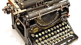 Máquina de escribir timeline