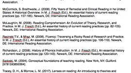 History of Reading timeline