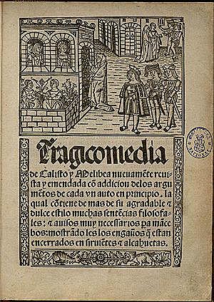 Publicación de La Celestina por Fernando de Rojas.