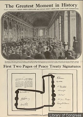 Amistici del Tractat de Versalles.