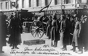 Arrenca la Revolució Russa