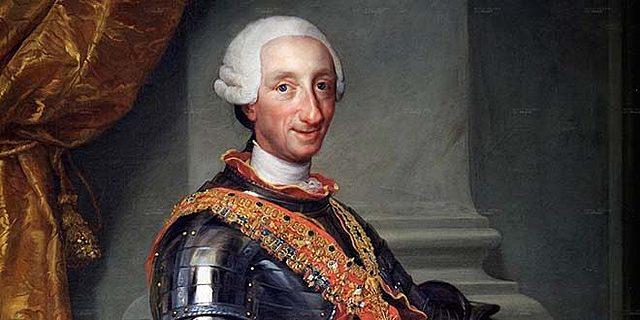 Reconocimiento del rey Carlos III