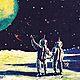 2600 men on moon