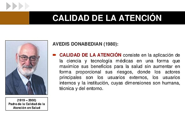 AVEDIS DONABEDIAN 1919-2000 PARTE 1