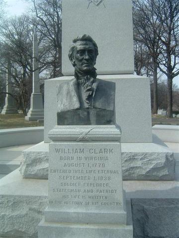 William Clark dies at the home of his eldest son, Meriwether Lewis Clark.