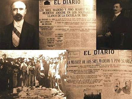 Asesinato de Madero y Pino Suarez
