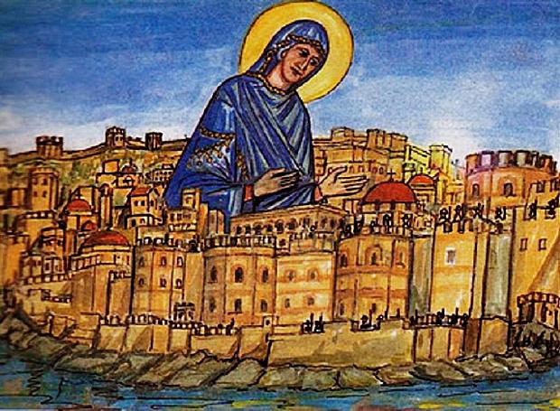 Η Κωνσταντινούπολη πολιορκείται από τους Πέρσες και τους Αβαρο-Σλαβους