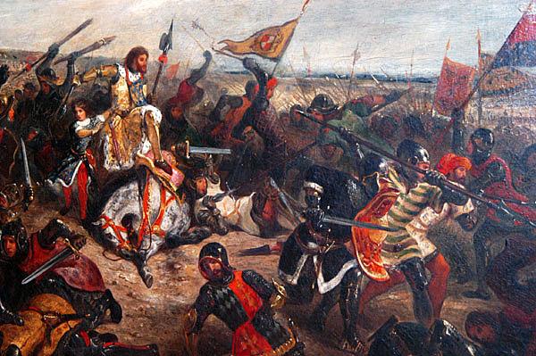 Ο στρατός των Φράγκων σταματά τους 'Aραβες στο Πουατιέ της Γαλλίας