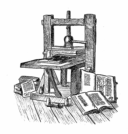 Invention of the Gutenberg Printing Press