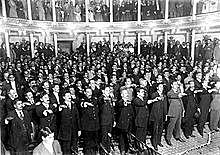 Formación  del  Congreso Constituyente