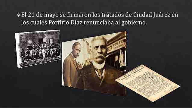 Fin Del Porfiriato y Tratados de Juarez