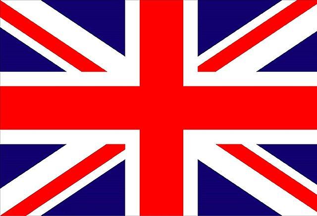 Primera transmisión en Inglaterra