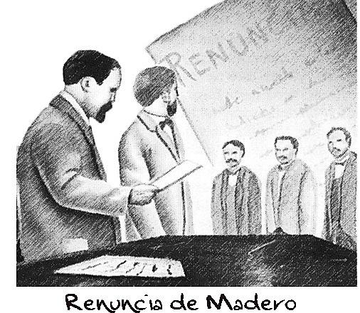 Madero Renuncia